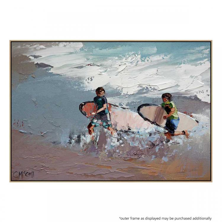 Two Surfers - Print