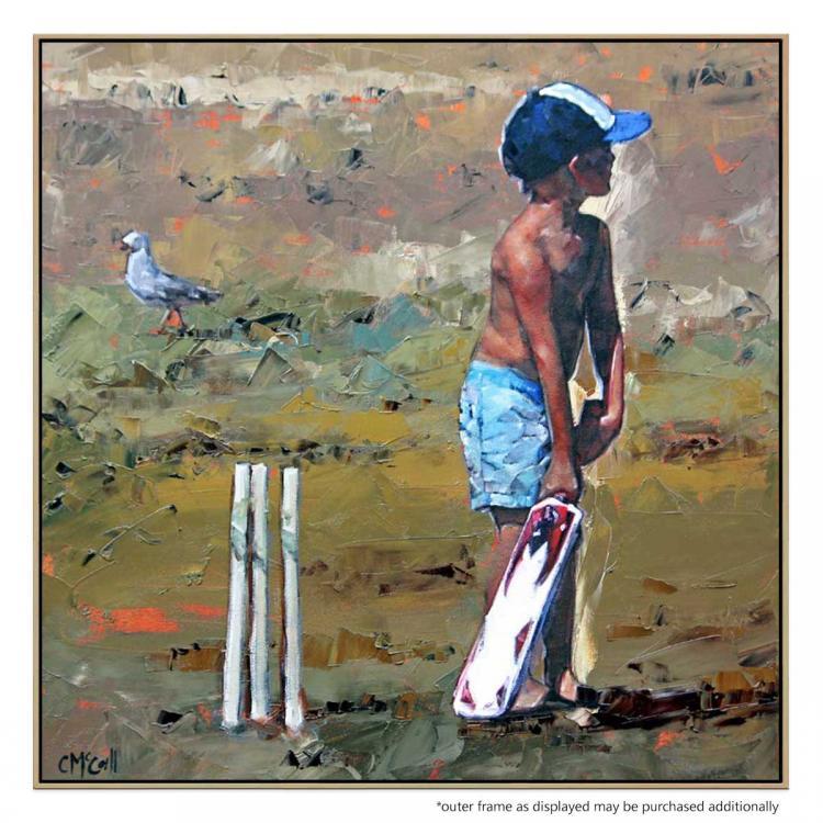 Beach Cricketer - Print