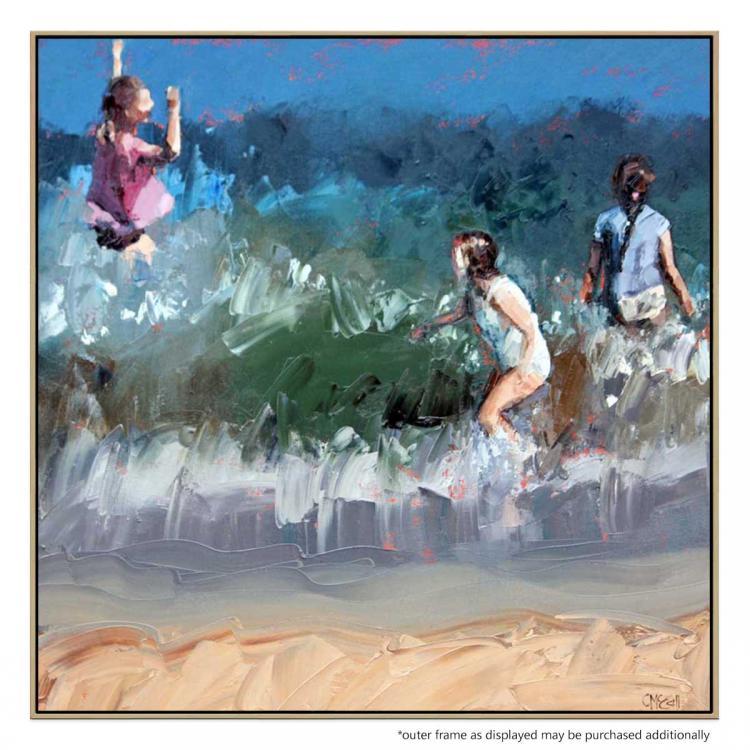 Braving The Waves IV - Print
