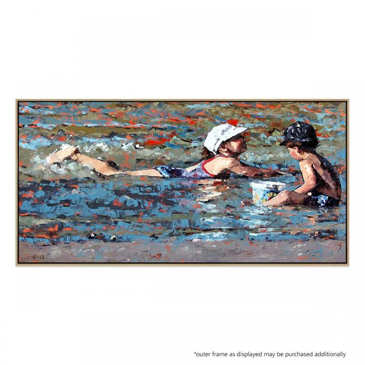 Playing In The Shallows - Print
