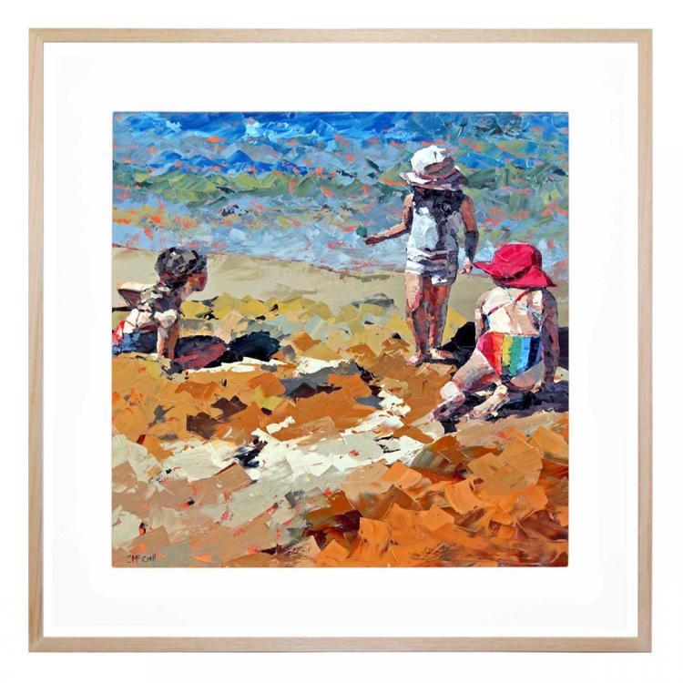 Sand Castles III - Print