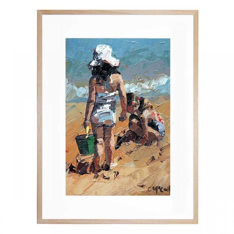 Sand Castles Petite II - Print