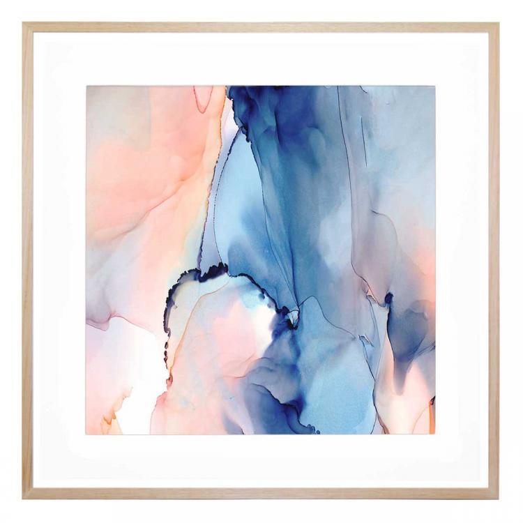 Moon Blue - Print