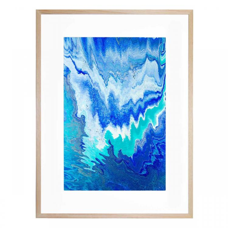 Blue Abstract - Print