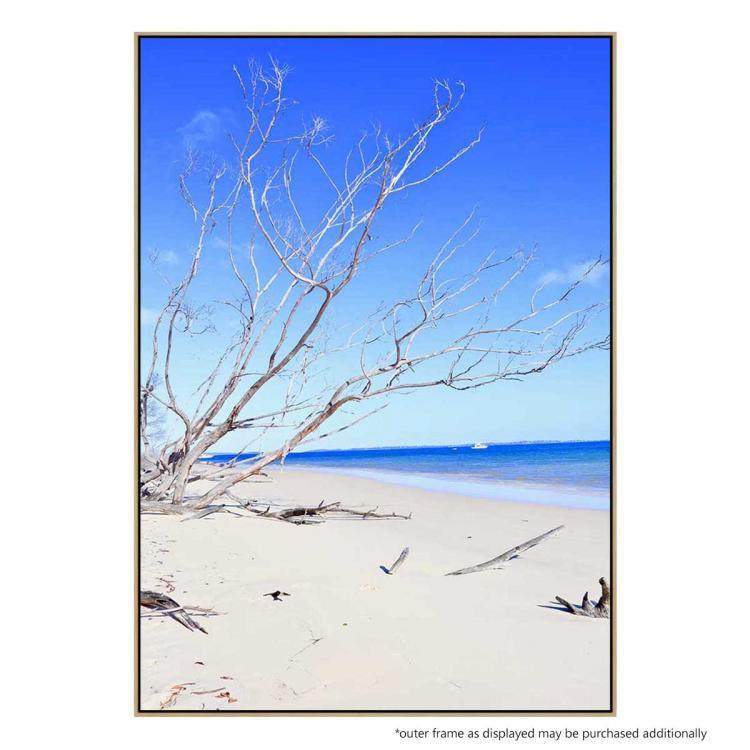 A Walk Along The Beach - Print