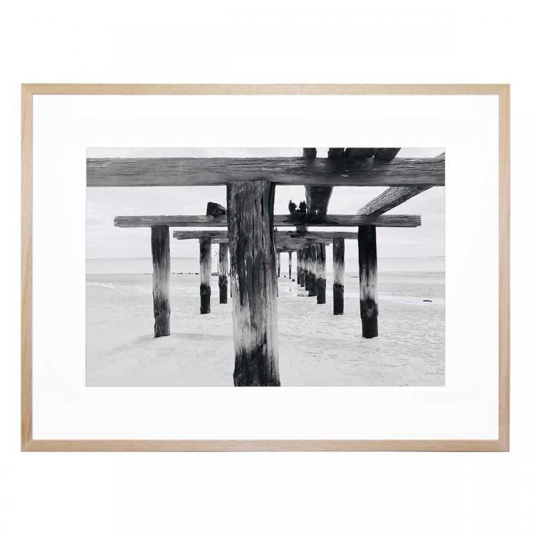 Black & White Jetty - Print