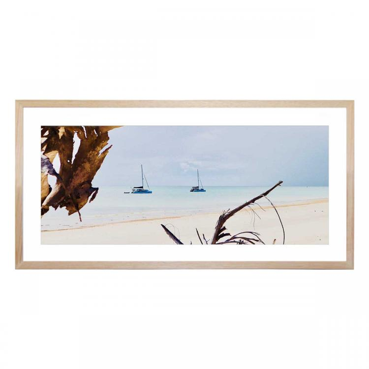Looking Out To Sea - Print