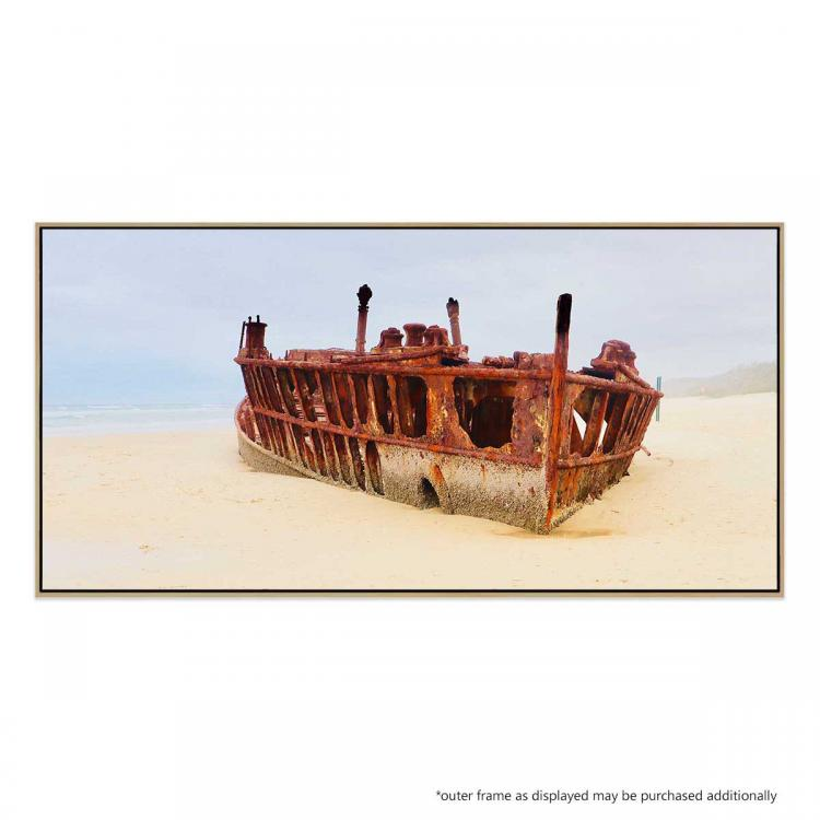 Maheno Shipwreck II - Print