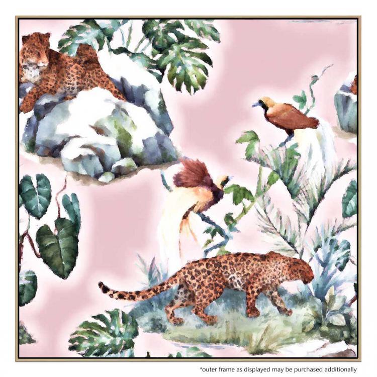 Leopards Walk - Painting