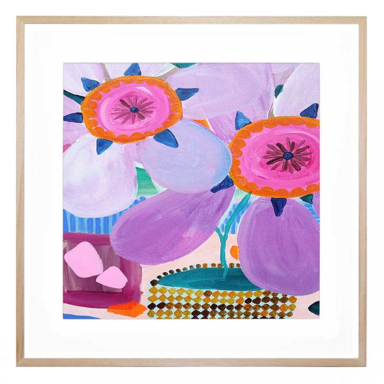 Big Flowers - Print