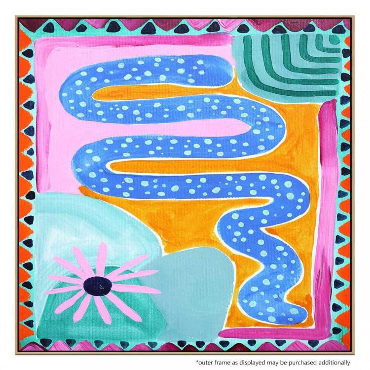 Blue Snake - Print