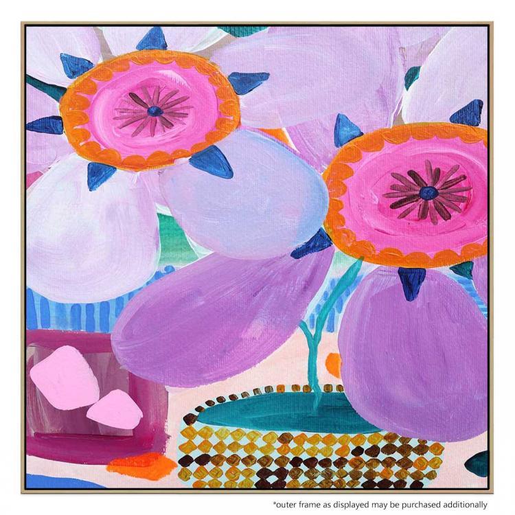 Big Flowers - Painting