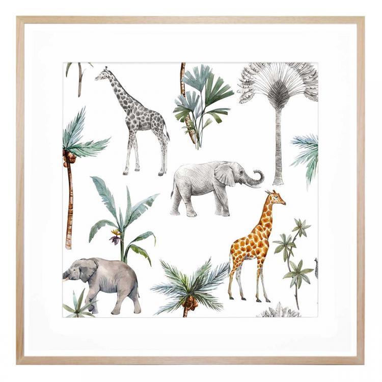 Africa 1 - Print