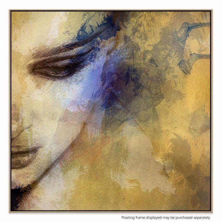 Somber Violet - Print
