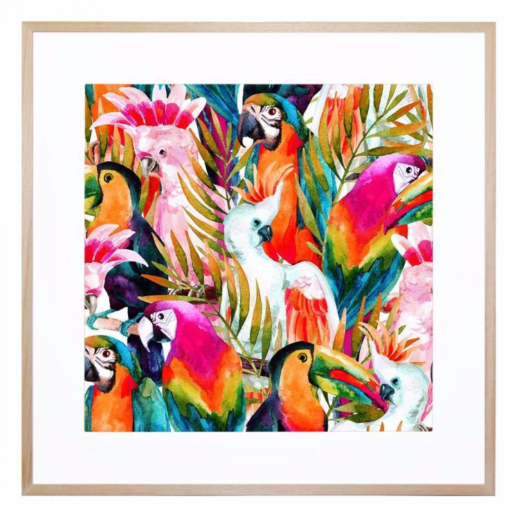 Dance Of The Birds - Print