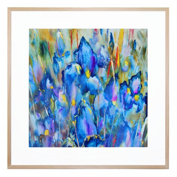 Planetary Bloom - Print