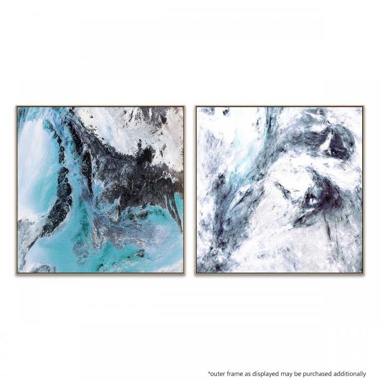 Cliff Break - Flight Path 7 - Canvas Prints