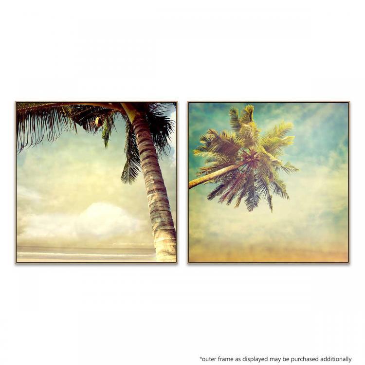 Vintage Palm - Vintage Horizon - Print