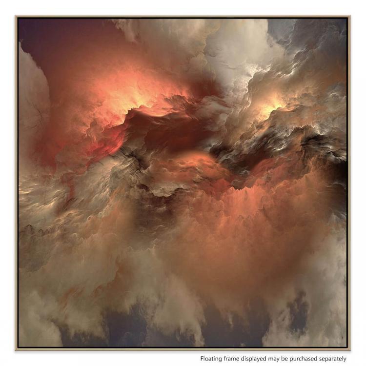 Saintly Sky 2 - Print