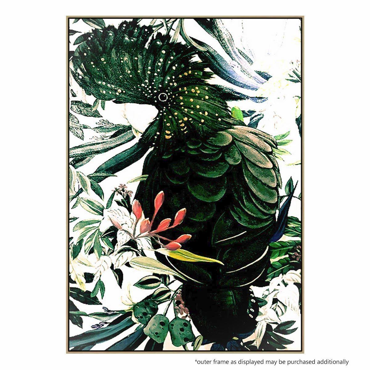 Contemporary Art Velvet Feather United Interiors