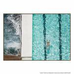Swim By The Beach - Print
