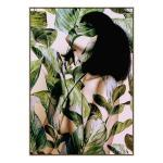 In Bloom - Canvas Print - Natural Frame - ONE ONLY