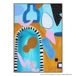 Shape Of You - Canvas Print - Natural Frame - ONE ONLY