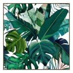 Mondata - Canvas Print - Natural Frame - ONE ONLY