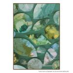 Green Blue Leaves - Print