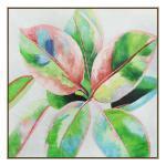 Botanical Harmony 2 - Painting - Natural Floating Frame
