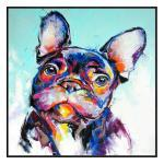 Very Frenchy - Painting - Black Floating Frame