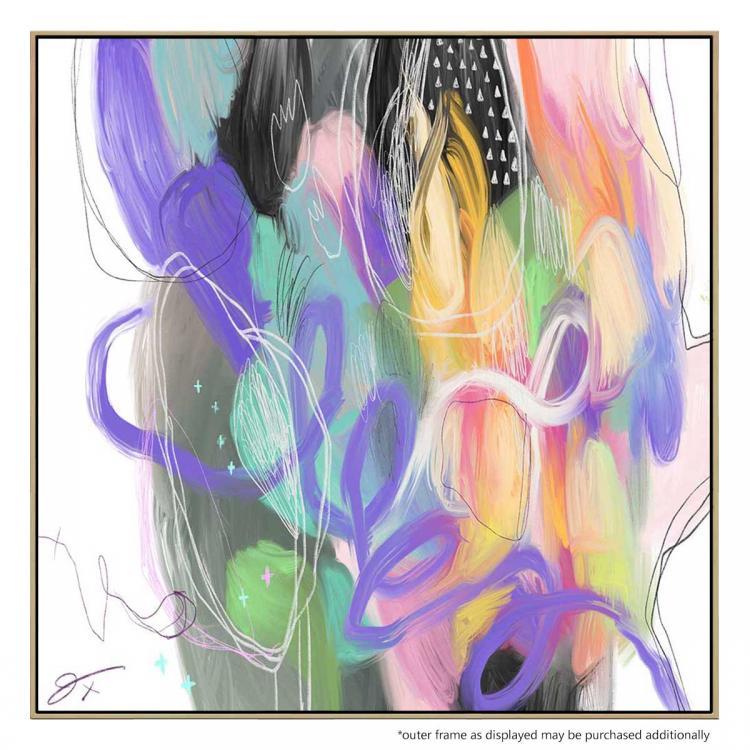 Soho Scramble - Painting