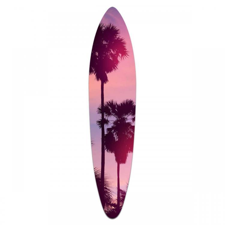 Blush Sunrise - Acrylic Surfboard