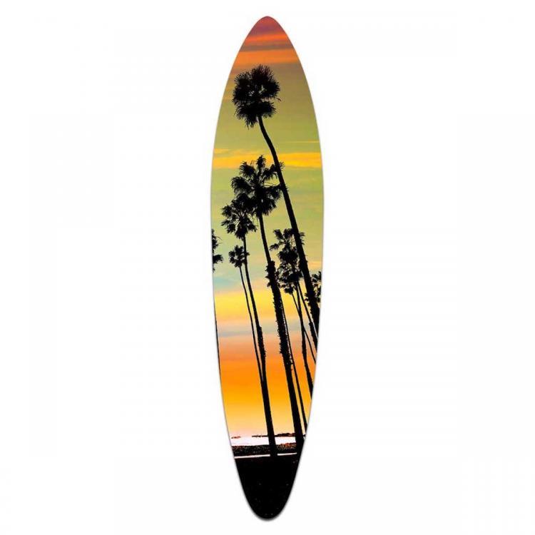 California Sunset - Acrylic Surfboard