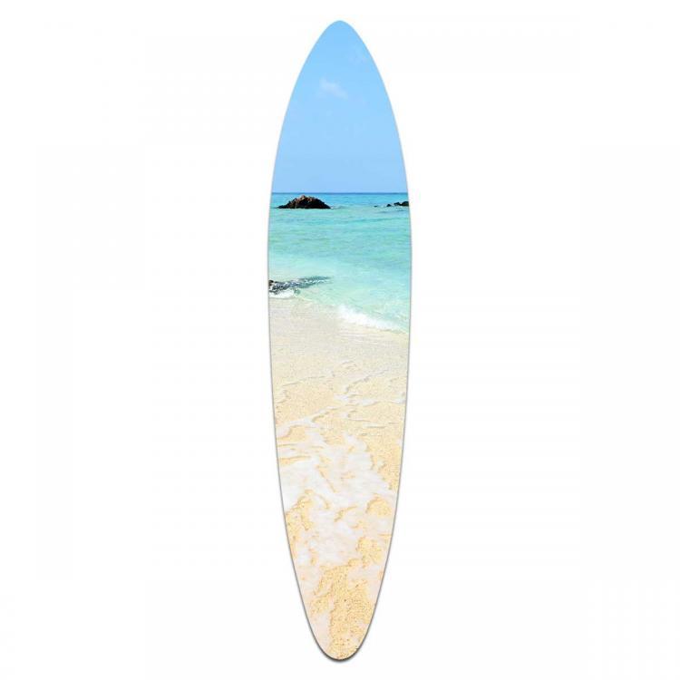Crystal Waters - Acrylic Surfboard