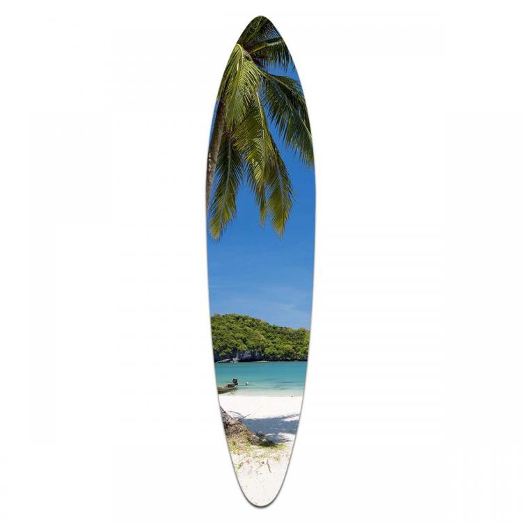 Koh Samui Beach - Acrylic Surfboard