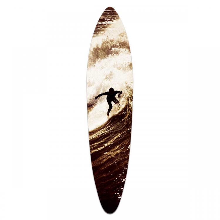 Lone Surfer - Acrylic Surfboard