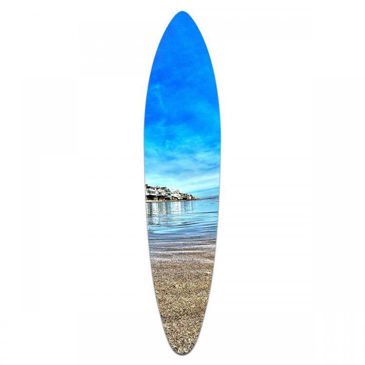 Malibu Waters - Acrylic Surfboard
