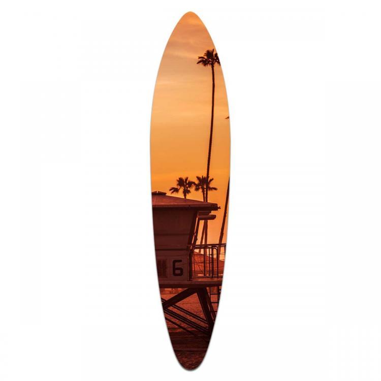Ocean Beach - Acrylic Surfboard