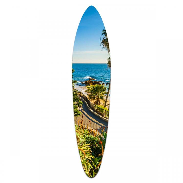 Pacific View - Acrylic Surfboard