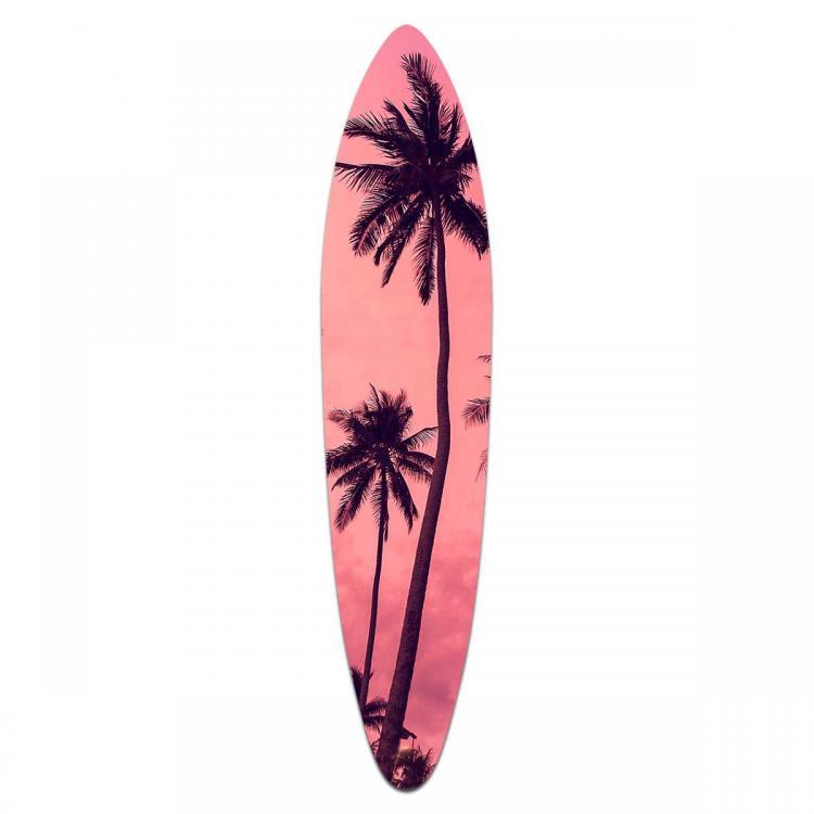 Pink Sunset - Acrylic Surfboard
