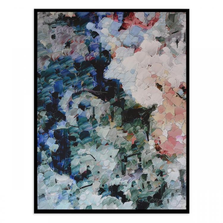 Natural Melodies II - Canvas Print - Black Frame - ONE ONLY