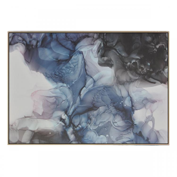 nine - Canvas Print - Natural Frame - ONE ONLY