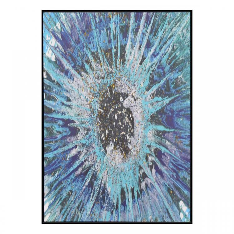 Foriburst - Canvas Print - Black Frame - ONE ONLY