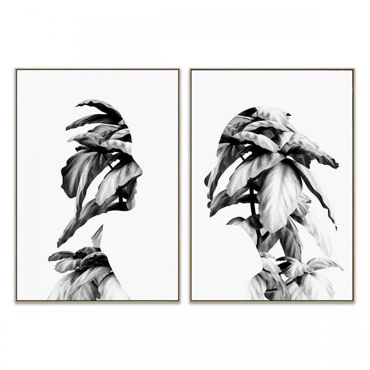 Flourish And Mend - Canvas Print - Natural - ONE ONLY
