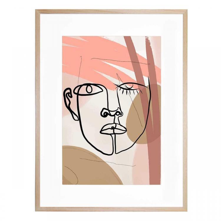 Liandross - Framed Print - Natural Frame - ONE ONLY
