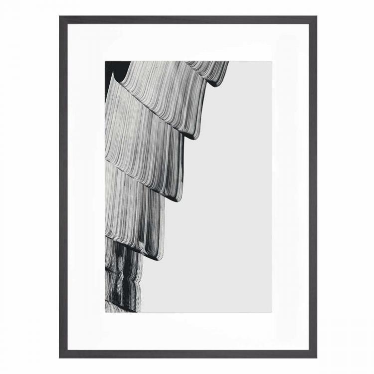 Mono Kris 2 - Framed Print - Black Frame - ONE ONLY