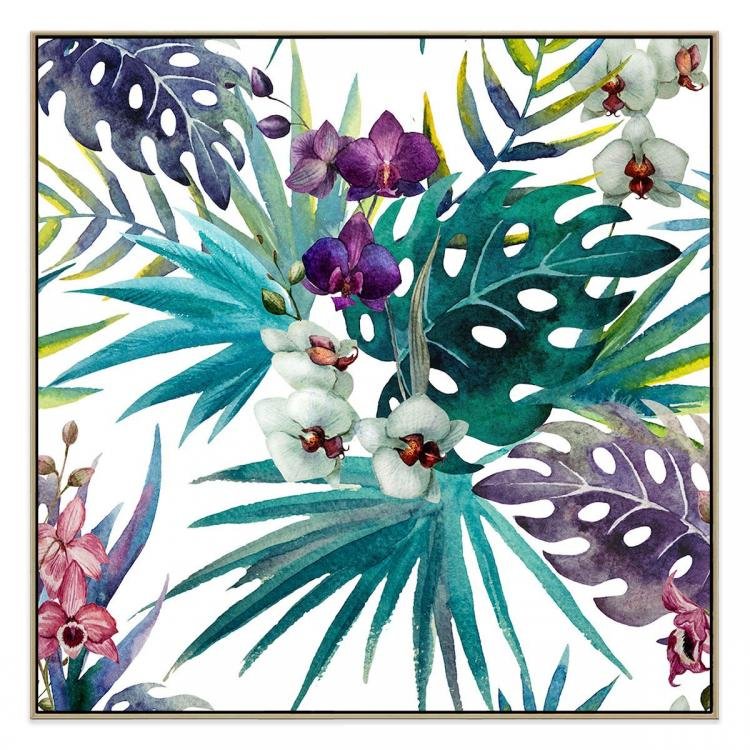 Grandiflora - Canvas Print - Natural Shadow Frame (Clearance)