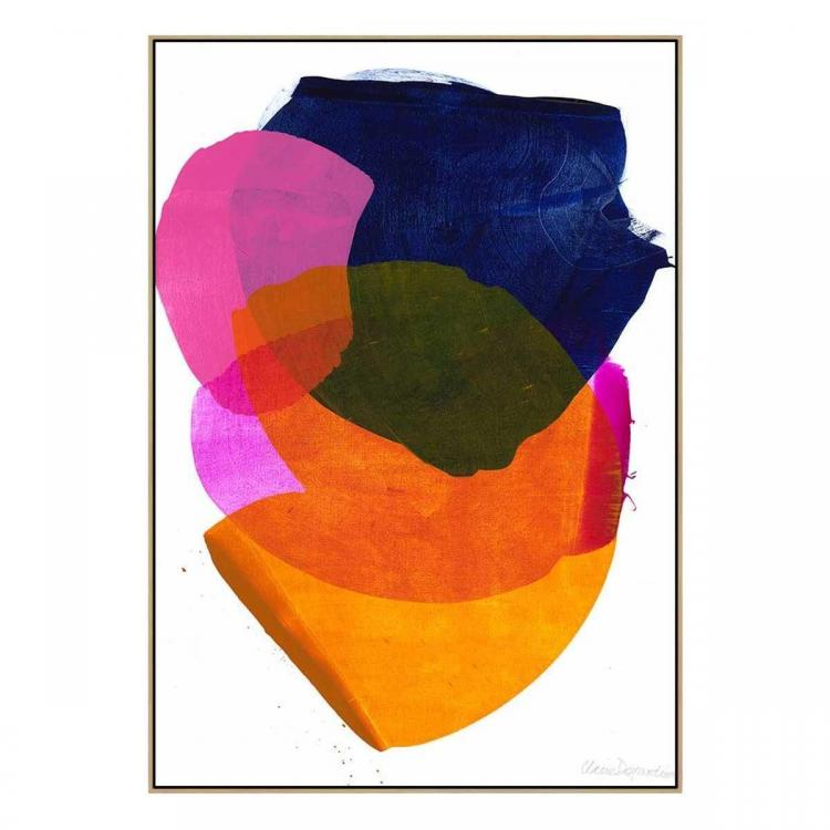 California 1- Canvas Print - Natural Shadow Frame - (Clearance)