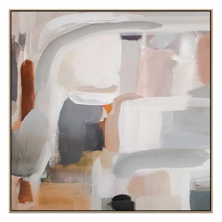 Cortula - Canvas Print - Natural Shadow Frame - (Clearance)